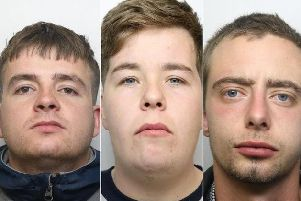 Jordan Metcalfe, Scott Crutchley and Nathan Redmond were handed minimum jail terms totalling 75 years over the murder of Jonathan Dews