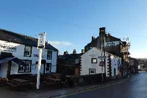 Heild Well is situated outside The Dog on Wellgate.