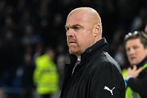 Burnley manager Sean Dyche ''Photographer David Horton/CameraSport''The Premier League - Brighton and Hove Albion v Burnley - Saturday 9th February 2019 - The Amex Stadium - Brighton''World Copyright � 2019 CameraSport. All rights reserved. 43 Linden Ave. Countesthorpe. Leicester. England. LE8 5PG - Tel: +44 (0) 116 277 4147 - admin@camerasport.com - www.camerasport.com