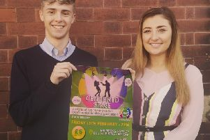 Luke Pollard and Jaimie-Lea Bell held their event, called Centered Stage, and raised 522 for a mental health charity.