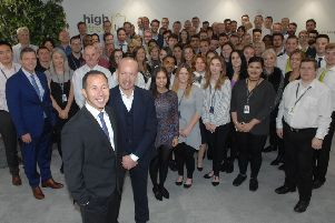 High Street TV employs 150 people, mostly at its headquarters in Harrogate, and sells to over 40 territories worldwide. ( 1709262AM)