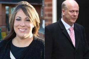 Paula Sherriff called out to Chris Grayling during a Commons debate yesterday