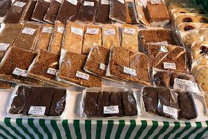 Cakes galore at the country market