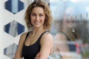 Amy Williams, Winter Olympic Skeleton Champion Gold Medallist 2010.