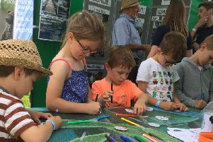 Children can turn their hands to crafts as there will be lots to see and do