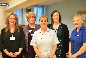 Hospital staff will be on hand to offer advice on stopping smoking