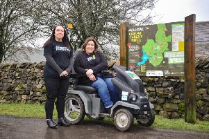 Tramper vehicle which can be hired from the Gisburn Forest Cafe hub (photo: Mark Sutcliffe)