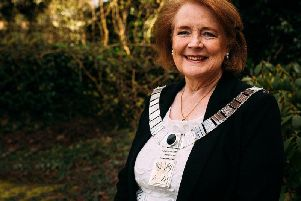 Ribble Valley Mayor Stella Brunskill.