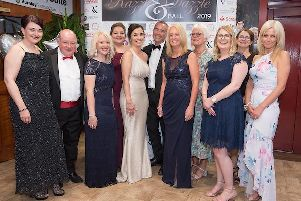 Guests have a blast at the Razzle and Dazzle charity ball. Picture courtesy of Andy Ford Photography