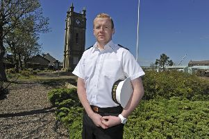 John Henderson pictured in Amble in 2013.