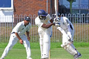 Read's Luke Jongwe hit 39 not out and took two wickets as they reached the Ramsbottom Cup semi finals