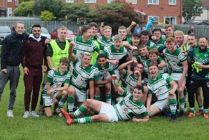 Dewsbury Celtic defeated Shaw Cross Sharks to win the Heavy Woollen Under-18s Cup.