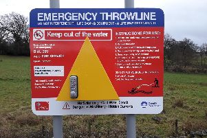 Seven water safety boards have been installed across the county at key high risk areas