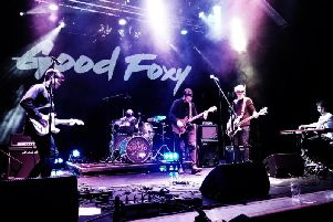 Good Foxy - headliners at this year's Rock on the Rec