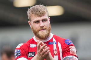 Daniel Murray, pictured before his loan switch from Salford to Hull KR. Picture: Isabel Pearce/SWpix.com