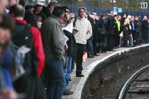 """An increase in the amount of claims would """"send a message"""" to train operators that reliability must improve, according to watchdog Transport Focus. Picture by Gareth Fuller/PA Wire."""