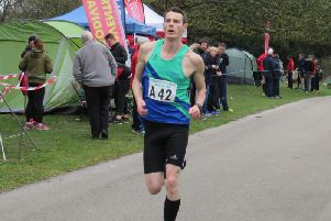 Paul Wright came second at the Hardwick 10k.