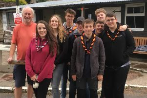 Clitheroe and Whalley Scouts Charlotte Whiston, Hal Davies, Oliver Sinclair, Eleanor Jessop, Joshua Carysforth, James Mellor and Joshua Palmer, along with Cubs leaderRichard Marshall,have travelled toWest Virginia, USA, for The 24th World Scout Jamboree at the eco-friendly Summit Bechtel Reserve.