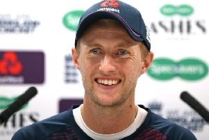 England's Joe Root.