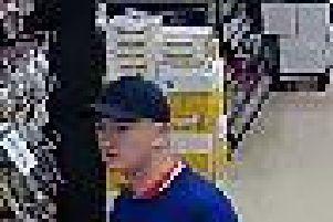 Please call 101 if you recognise this man