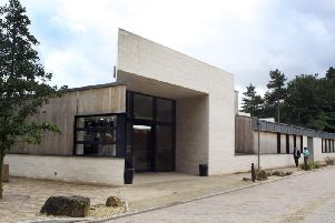 Creswell Crags visitors centre