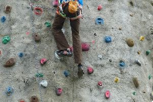 Adrenaline World would include climbing walls.