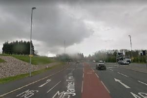 Two filter lanes were created to take traffic from the Broughton bypass onto the M6, when only one had initially been planned (image: Google Streetview)