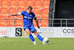 Chesterfield defender Anthony Gerrard.