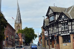Chesterfield then and now.