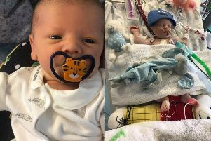 Rupert Horne was just four-weeks-old when, tragically, he passed away in his mum's arms. Photographs kindly provided by the family.