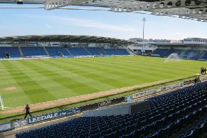 Proact Stadium, home of Chesterfield FC.