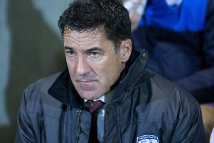 Former Chesterfield FC manager Dean Saunders.