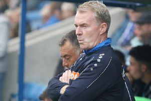 John Sheridan wants his improving side to keep battling.
