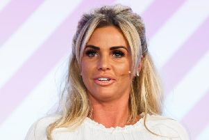 Katie Price. Photo - Tristan Fewings/Getty Images