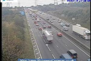 Junction 33 of the M1.