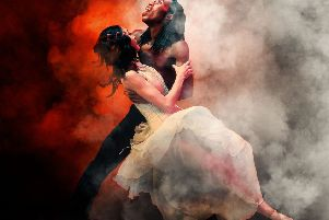 Northern Ballet Theatre Company's production of Dracula.