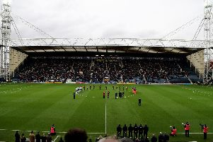 Deepdale falls silent ahead of kick-off as fans remember those who gave their lives in battle