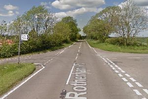 The crash happened on Rotherham Road. Pic: Google Images.