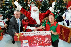 Galloways Grotto opens in St Georges Shopping Centre, Preston, this Saturday, November 23