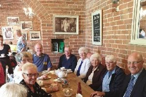 The group meet regularly in Chesterfield.