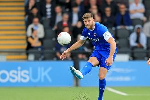 Chesterfield FC captain Will Evans. Picture: Shibu Preman/AHPIX LTD.