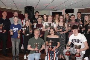 Spenborough Athletics Club celebrated a successful season at their presenttation evening.