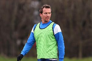 Former Chesterfield FC striker Kevin Davies. Photo by Alex Livesey/Getty Images)