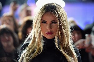Katie Price has allegedly 'threatened to kill' her Chesterfield ex.  (Photo by Jeff Spicer/Getty Images)