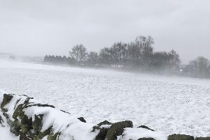 Snow is set to fall in Derbyshire