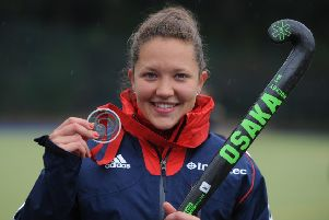 Ellie Watton, who is in the England squad for the Commonwealth Games. (PHOTO BY: Neil Cross)