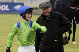 Trainer Mark Johnston, who has a live hope, Elarqam, for Saturday's Qipco 2,000 Guineas at Newmarket. (PHOTO BY: Simon Hulme)