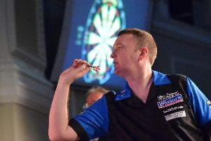 Glen Durrant will be aiming for a third World Masters title in Brid in October
