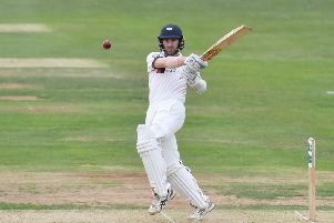 LEADING MAN: Yorkshire's Kane Williamson, scored his second half century of the match before his late dismissal on day three. Picture: Simon Wilkinson/SWpix.com