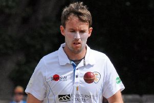 Tony Palladino, Derbyshire's standout red-ball bowler this season.